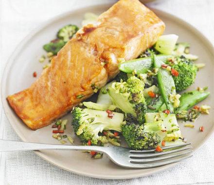 Лосось с зеленью в духовке рецепт приготовления