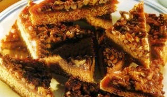 Пирожное ореховые треугольники рецепт приготовления