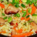Рис с белой фасолью рецепт приготовления