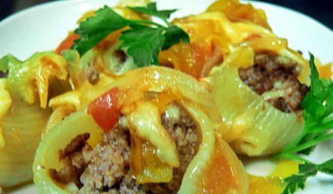 Фаршированные макароны с сыром в духовке рецепт приготовления