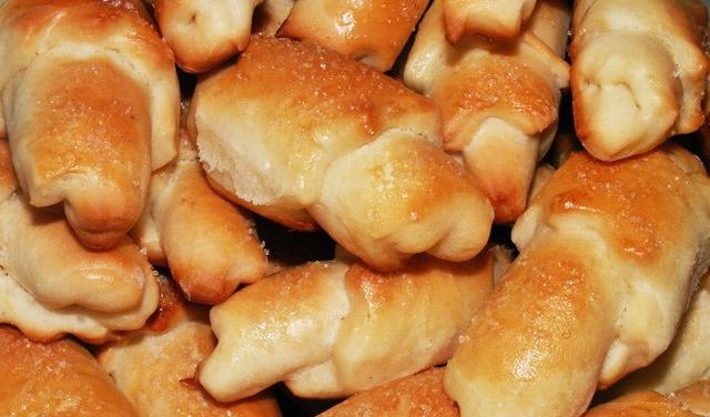 Рогалики с пикантной начинкой рецепт приготовления