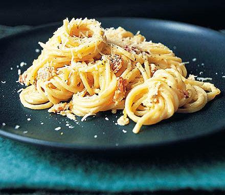 Спагетти карбонара с беконом и сливками – классический рецепт