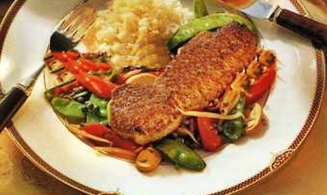 Стейк с перцем и овощами рецепт приготовления