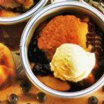Ягодно-персиковый десерт рецепт приготовления