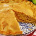 Закрытый яблочный пирог рецепт приготовления