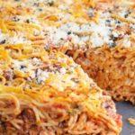 Запеканка со спагетти рецепт приготовления