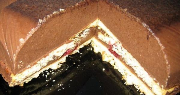 """Вкусный десерт """"Сладкие мечты"""" рецепт приготовления"""