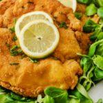 Шницели с лимоном рецепт приготовления