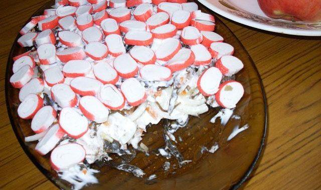 Салат Морской – Мамины рецепт приготовления