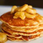 Оладьи с бананом, яйцом и мукой рецепт приготовления