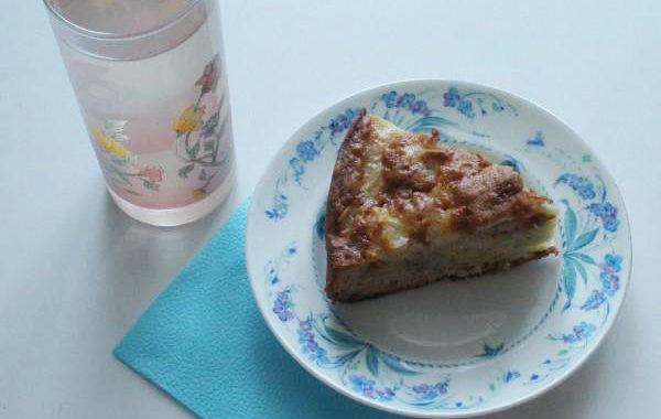 Шарлотка с яблоками в духовке рецепт приготовления