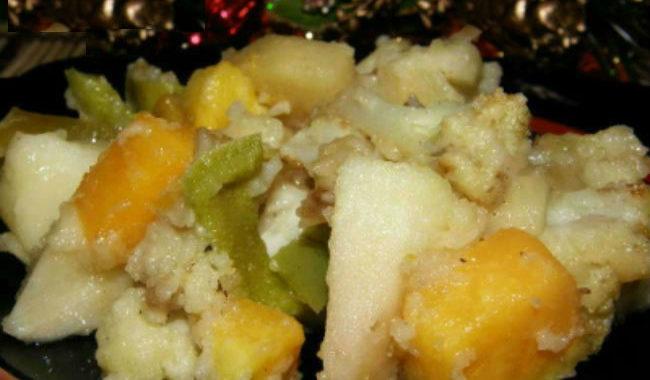 Фруктовое сладкое рагу рецепт приготовления