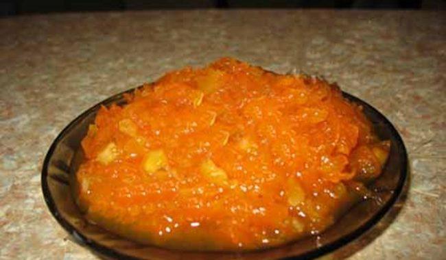 Варенье из тыквы с яблоками и цитрусами рецепт приготовления