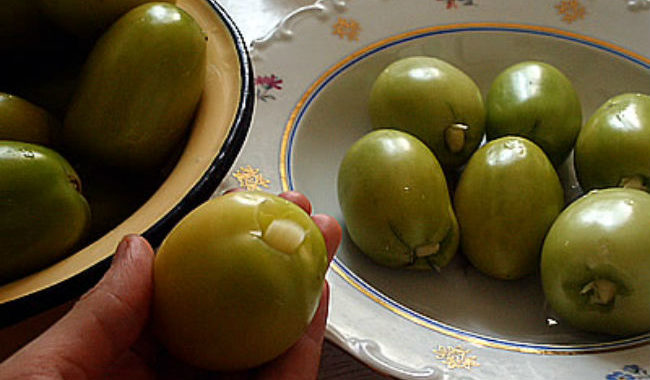 Сладкие зеленые помидоры рецепт приготовления