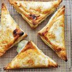 Слоеные треугольники с яблоками рецепт приготовления