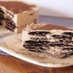 Вафельный торт с нежным сливочным кремом рецепт