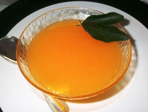 Апельсиновое желе рецепт приготовления