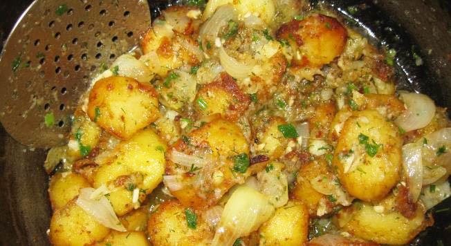 Картофель в котелке рецепт приготовления
