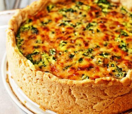 Пирог Киш лорен с лисичками рецепт приготовления