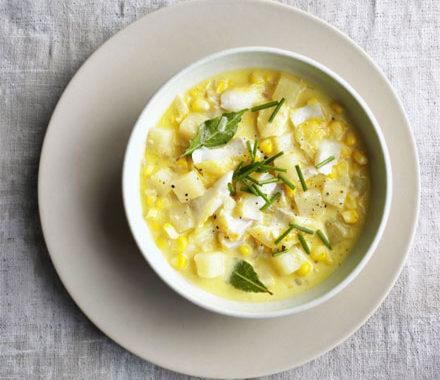 Кукурузный суп рецепт приготовления