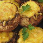 Запеченные грибы с сыром в духовке рецепт приготовления