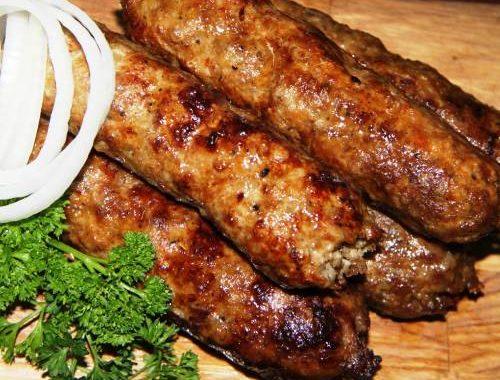 Шашлык из рубленого мяса по узбекски рецепт приготовления