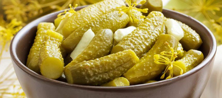 Калорийность соленых огурцов на 100 грамм – витамины