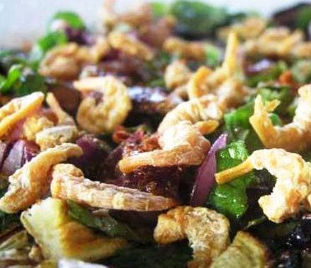 Тайский салат с баклажанами рецепт приготовления