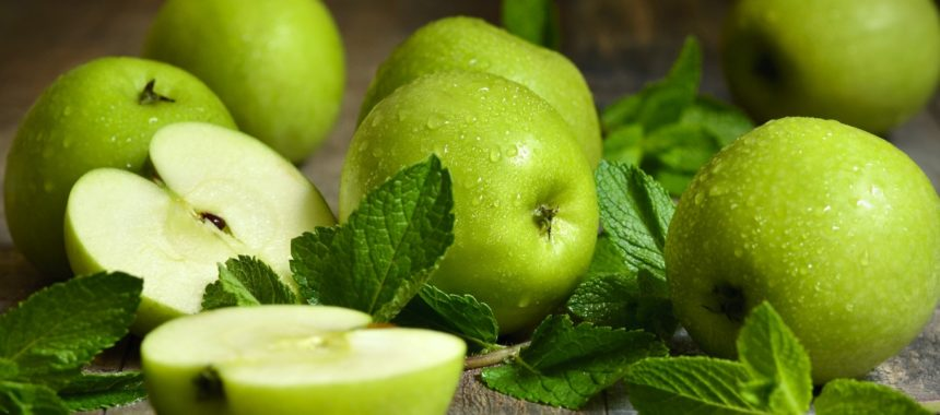 Калорийность зеленого яблока на 100 грамм