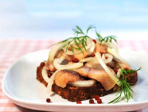 Жареная салака в маринаде рецепт приготовления