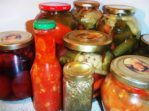 Маринованные овощи рецепт приготовления