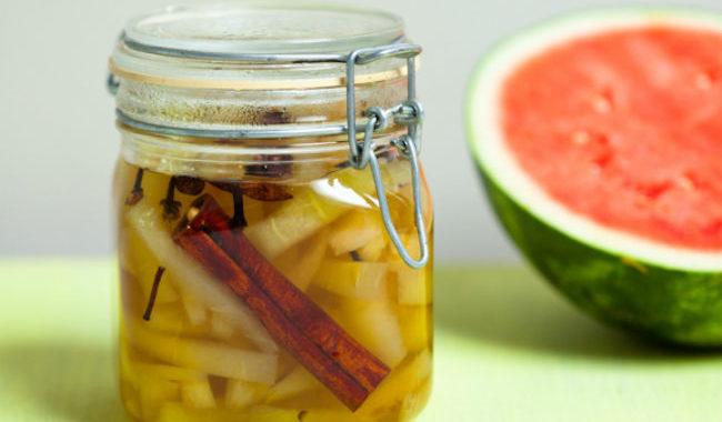 Маринованный арбуз рецепт приготовления
