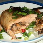 Горбуша запеченная в фольге в духовке рецепт приготовления
