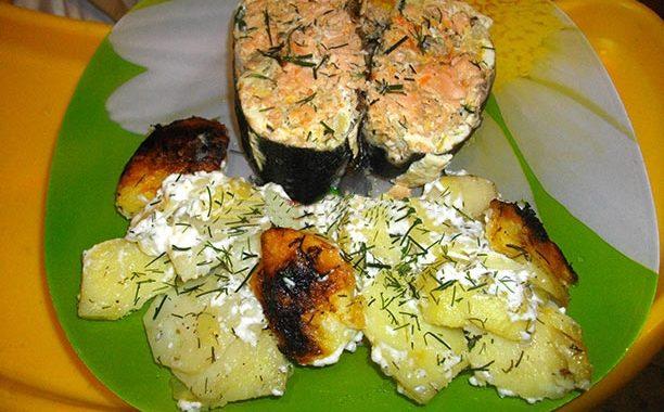 Как запечь горбушу в духовке – рецепт приготовления