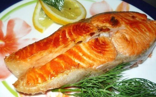 Стейк из красной рыбы рецепт приготовления