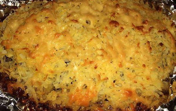 Скумбрия запеченная в духовке с картофелем – рецепт приготовления