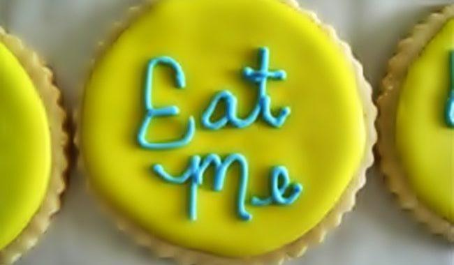 Вкусное печенье «Съешь меня» рецепт приготовления