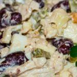 Куриный салат с фасолью рецепт приготовления
