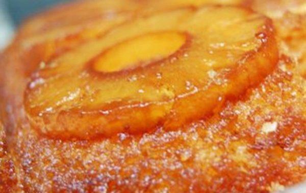 Пирог с ананасами рецепт приготовления