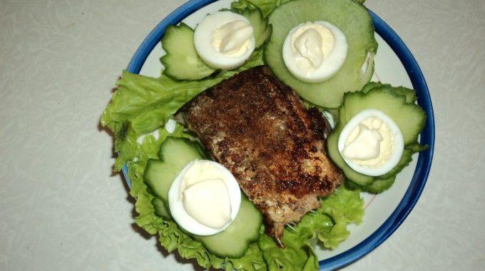 Жареная рыба с лимоном на сковороде рецепт приготовления