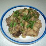 Говядина тушеная с картофелем и луком рецепт приготовления