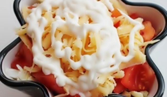 Салат «Сказка» пошаговый рецепт приготовления
