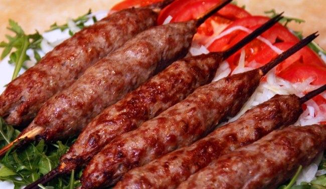 Люля-кебаб в духовке рецепт приготовления