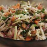 Диетический салат «Витамин +» рецепт с фото