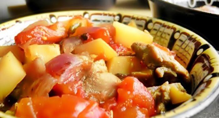 Гювеч или свинина с овощами в горшочке пошаговый рецепт
