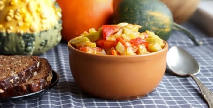 Овощное рагу пошаговый рецепт приготовления