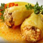 Фаршированный перец пошаговый рецепт приготовления