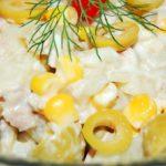 Салат «Новый век» с курицей рецепт приготовления