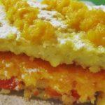 Пирожное «Солнечное» из кукурузных хлопьев рецепт