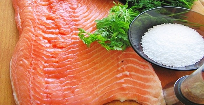 Соленая красная рыба рецепт приготовления